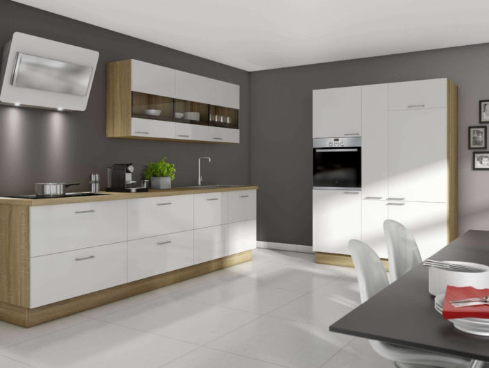 Cocinas Blancas Modernas - Murcia | KEYS DISEÑO